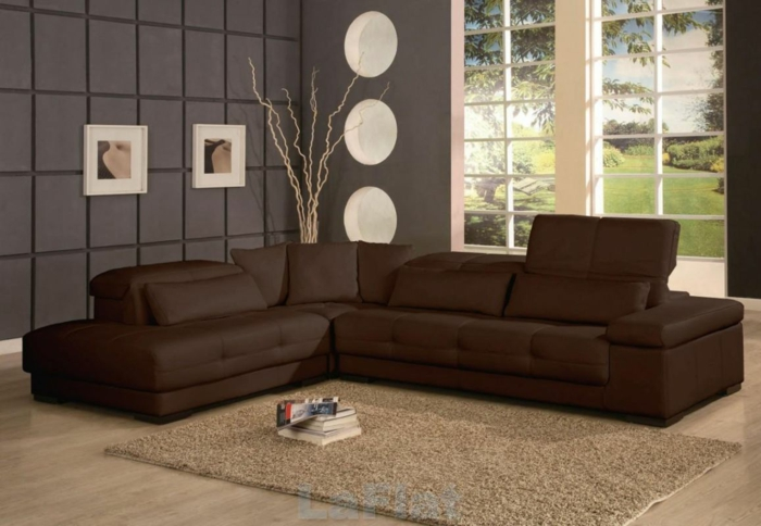 Wohnzimmer Farbgestaltung Braun : farbgestaltung wohnzimmer ...