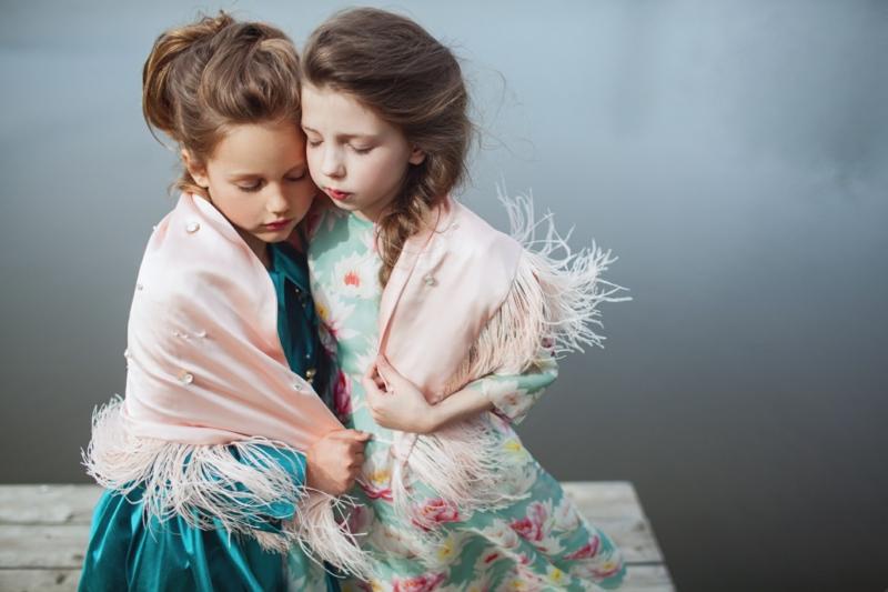 festliche Kindermode Mädchen neue Trends