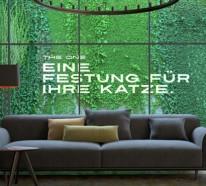 Katzenbaum THE ONE – exklusives Design und perfekte Ergonomie
