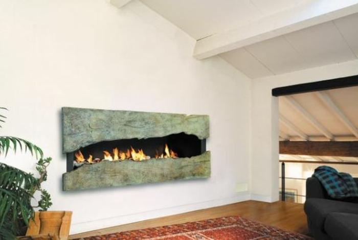 66 fantastische feuerstelle designs zum nachbauen - Kamin rustikal ...