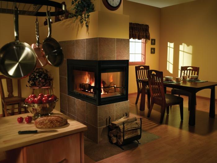 feuerstelle im garten bauen kamin einrichtungsideen küche