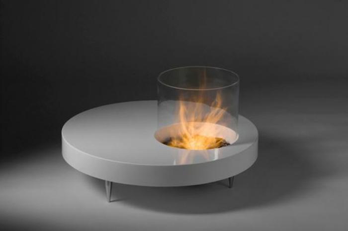 feuerstelle im garten bauen kamin kaffe tisch kamin