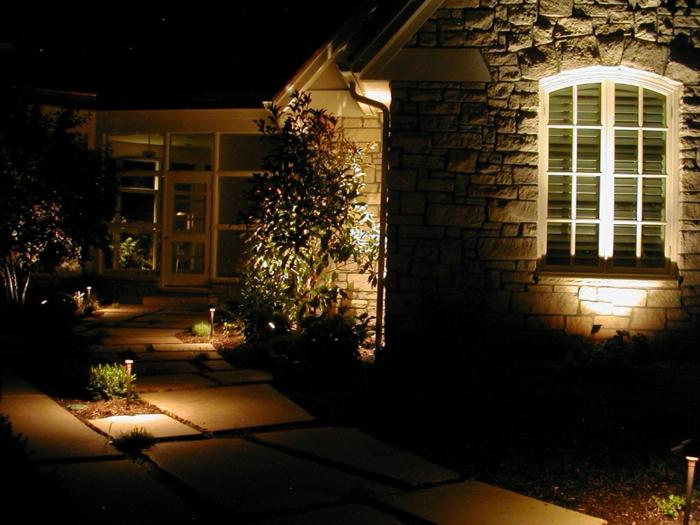 gartendeko ideen beleuchtung außenbereich garten pflanzen gartenideen