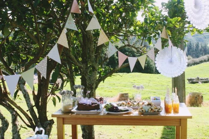 gartenparty deko - 50 ideen, wie sie ihr fest schöner machen, Garten ideen