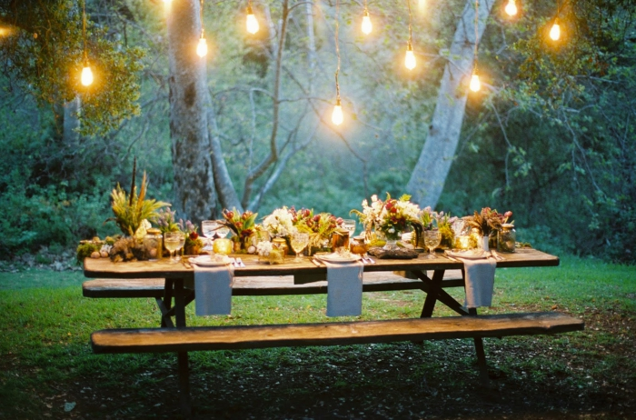 Outdoor Party Decorations Lights