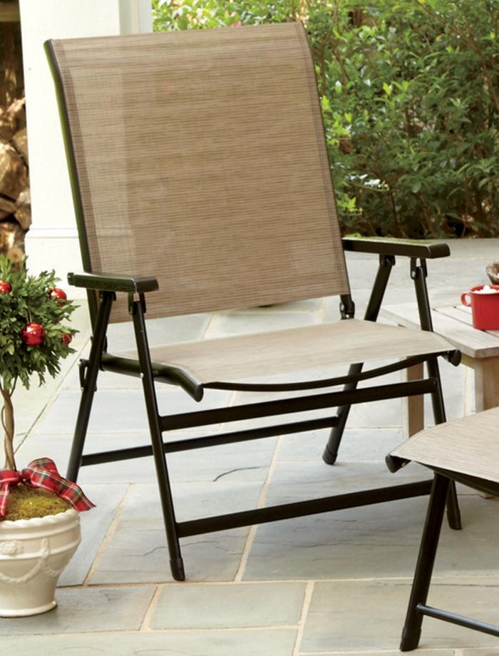 gartensessel design klappbarer gartenstuhl gartenmöbel gartenideen