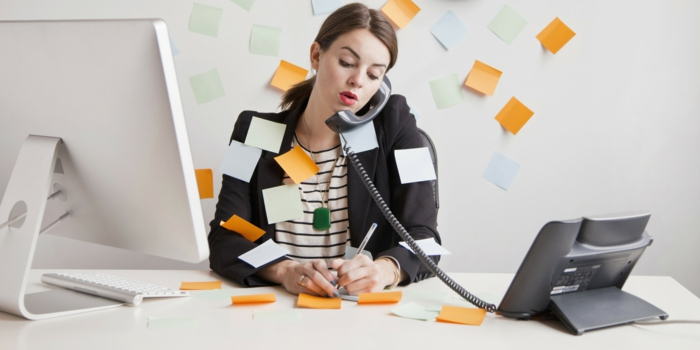 gesund zunehmen frau zu viel arbeit viel zu erledigen