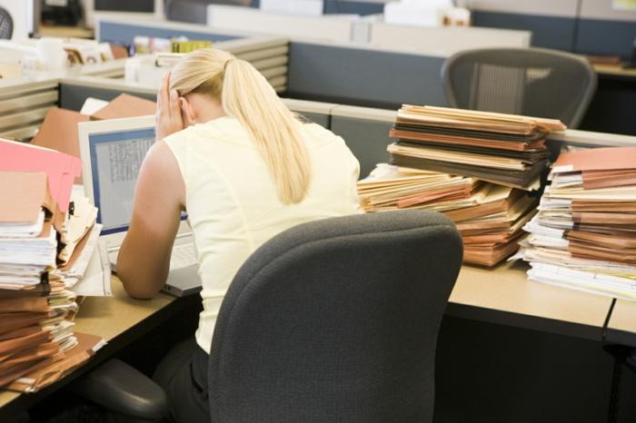 gesund zunehmen stress arbeit hektik