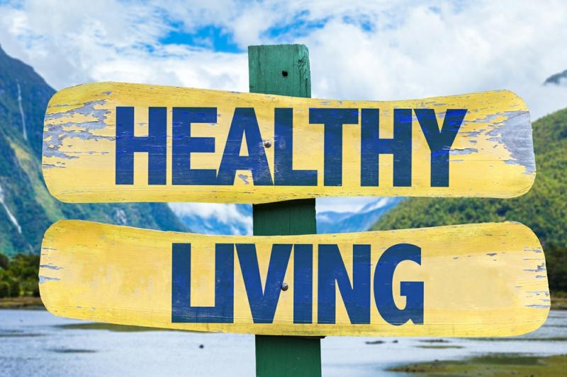 gesunde Lebensweise führen einige nützliche Tipps