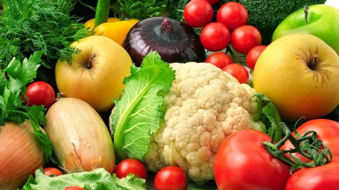 gesunde kohlenhydrate früchte gemüse essen gesund