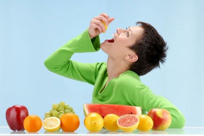 gesundes essen früchte essen kinder erwachsene