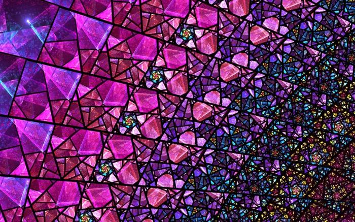 glas bemalen kirchenfesnster fragment lila
