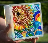 Glas bemalen- eine Kunsttechnik, die in Vergessenheit gerät