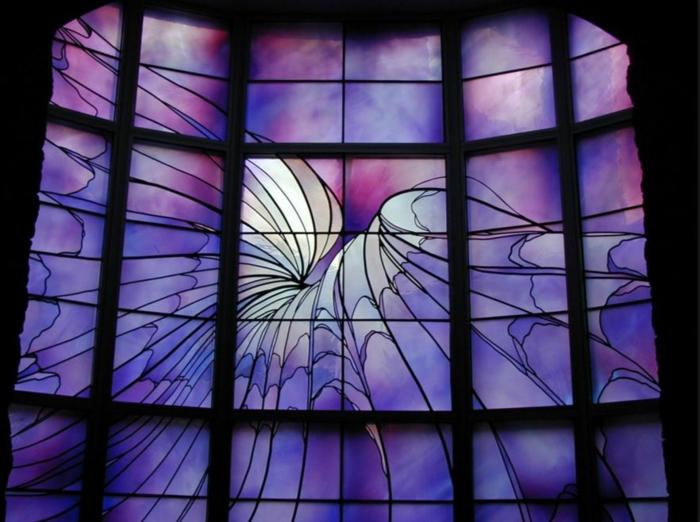 glas bemalen vitragen fenster moderne designs comics