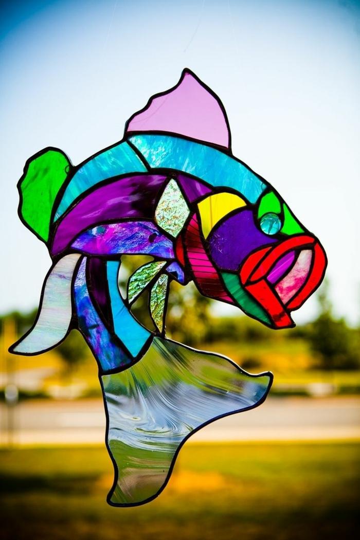 glas bemalen vitragen fenster moderne designs handgemacht