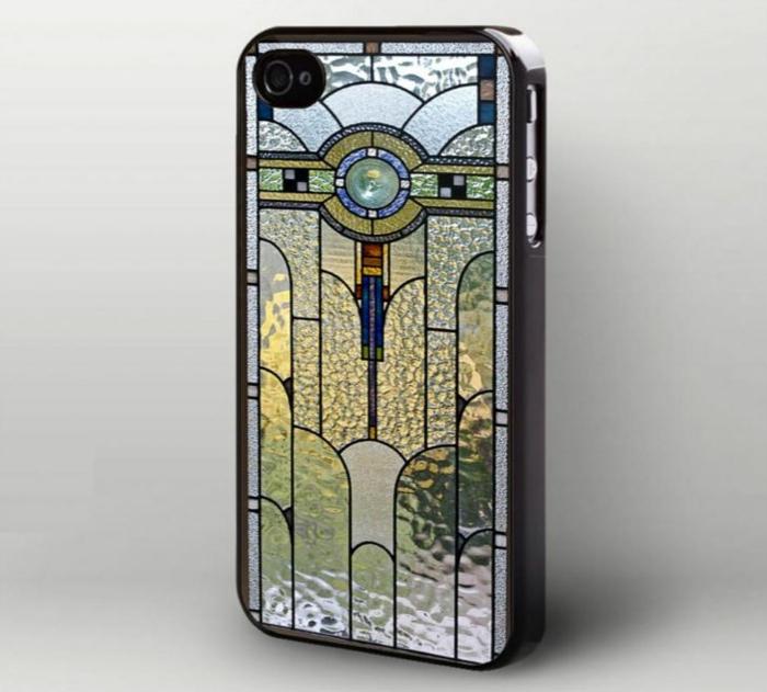 glas bemalen vitragen fenster moderne designs i phone schutzhülle