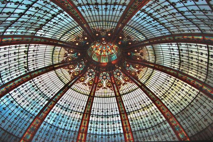 glas bemalen vitragen fenster moderne designs spanische kupel