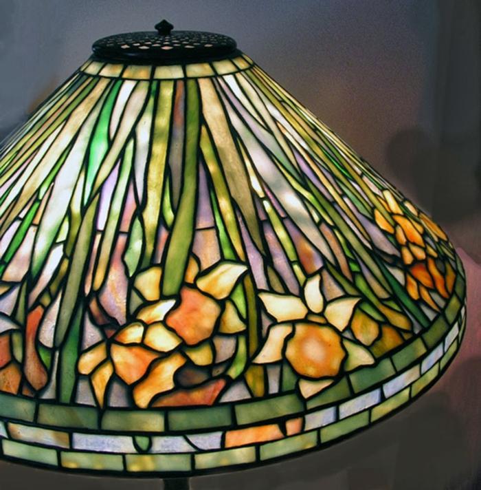 glas bemalen vitragen fenster tiffany lampe