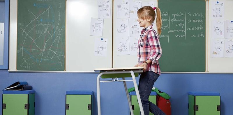 gute Inneneinrichtung Schulräume Schulmöbel von Ass