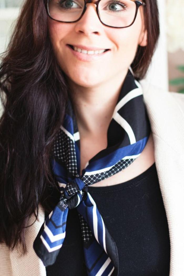 schal binden seide frühling varianten zum binden und tragen umwickelt nerd