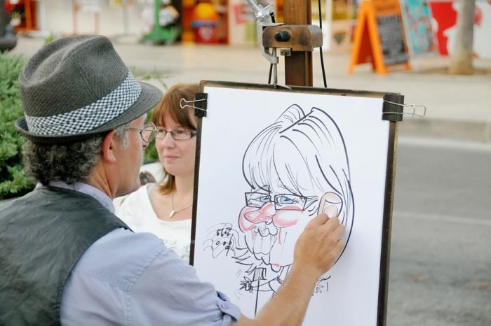 checkliste hochzeit planen spaß schilder mit spruechen zuckerwatte karikaturen