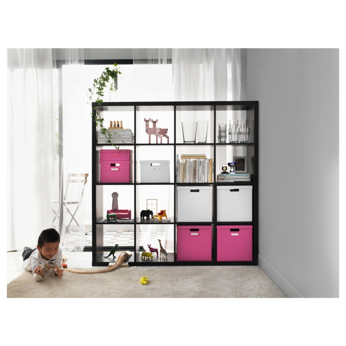 Ikea Expedit Regal Schubladen Aufbewahrung Kallax Raumtrenner