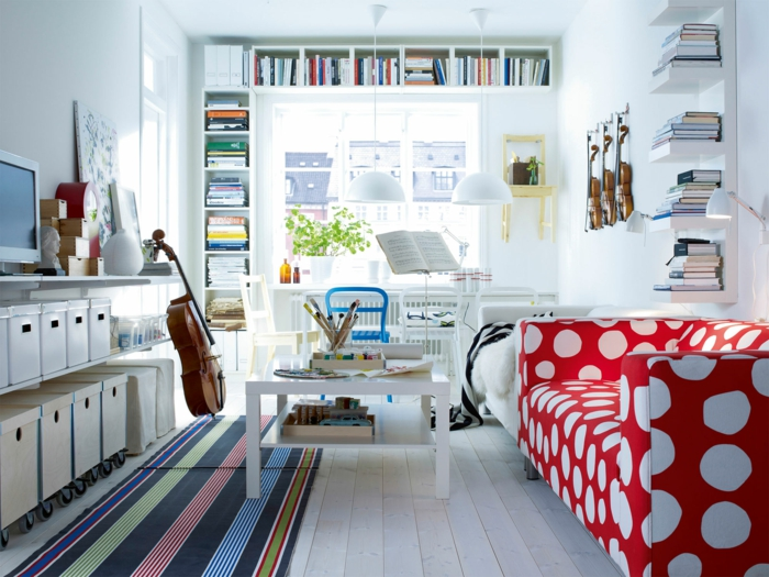 Arbeitszimmer einrichten ikea  Ikea Möbel - 33 originelle Ideen nach skandinavischer Art - Fresh ...