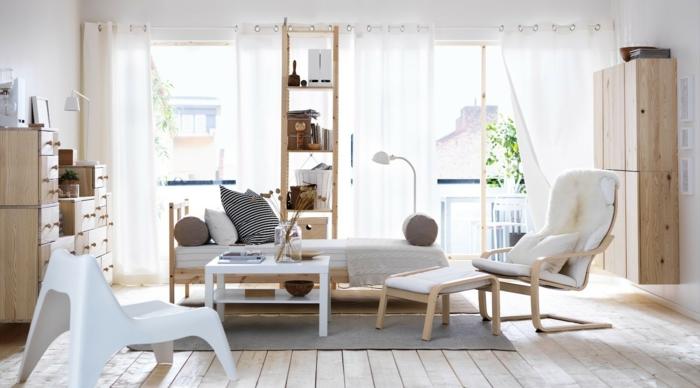 Skandinavischer Einrichtungsstil Dekoration : Ikea möbel originelle ideen nach skandinavischer art
