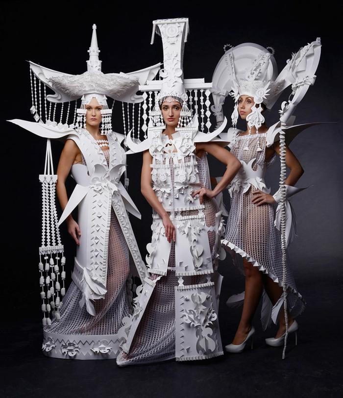 Karnevalskostüm faschingskostüme frauen mongolische hochzeitskostüme papier weiß