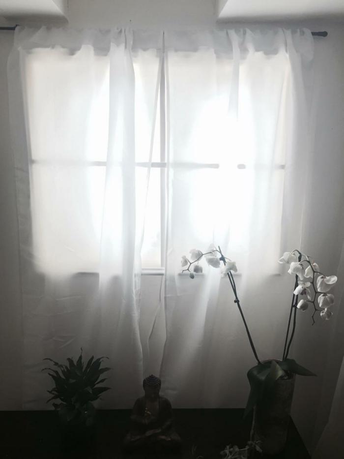 kellerfenster einbauen gardine