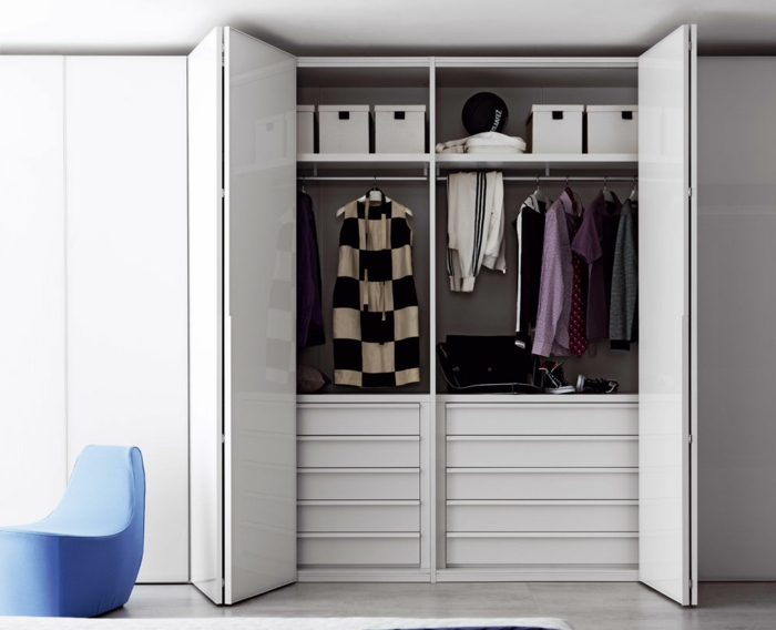Kleiderschrank design  60 Kleiderschrank Design Ideen, wie Sie Ihr Schlaf- oder ...
