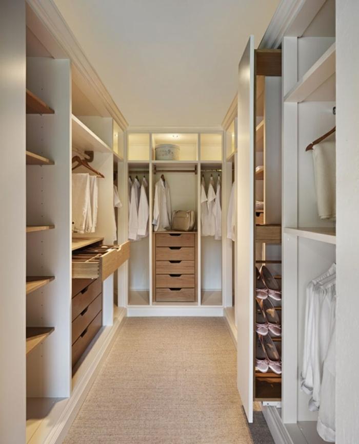 44 Beispiele Wie Schlafräume: Offener Kleiderschrank