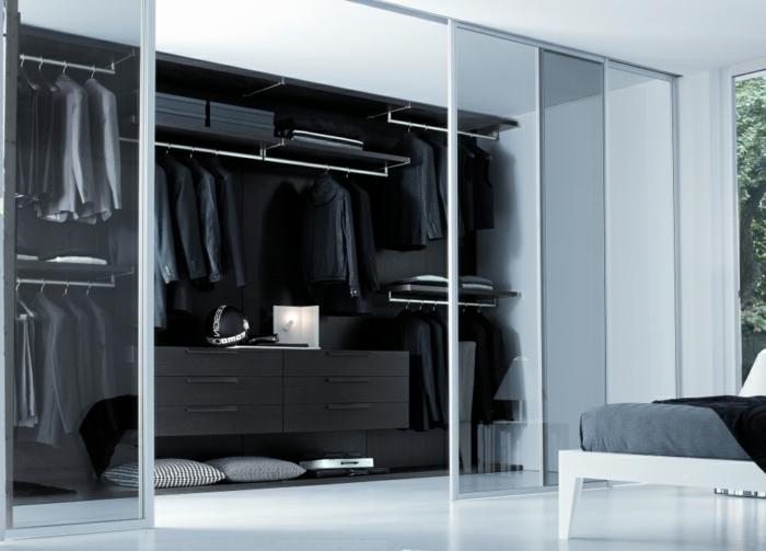 Offener Kleiderschrank In Kleinem Zimmer ~  kleiderschrank mit 3 schiebetüren weiß aneboda ikea Kleiderschrank