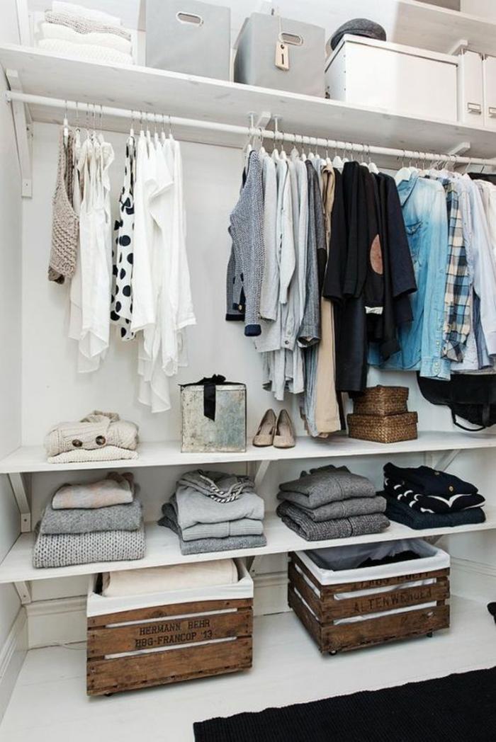 Regalsystem Kleiderschrank offener kleiderschrank 39 beispiele wie der kleiderschrank ohne