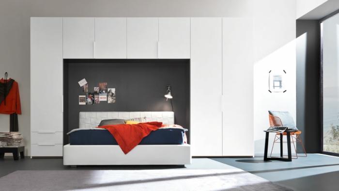 kleiderschrank weiß kamkorfurniture schlafzimmermöbel funktional