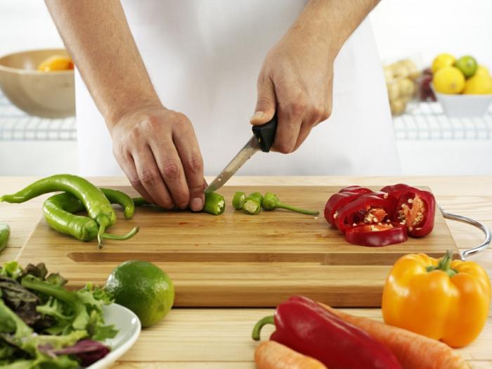 kochtipps gemüse schneiden passender messer lifestyle