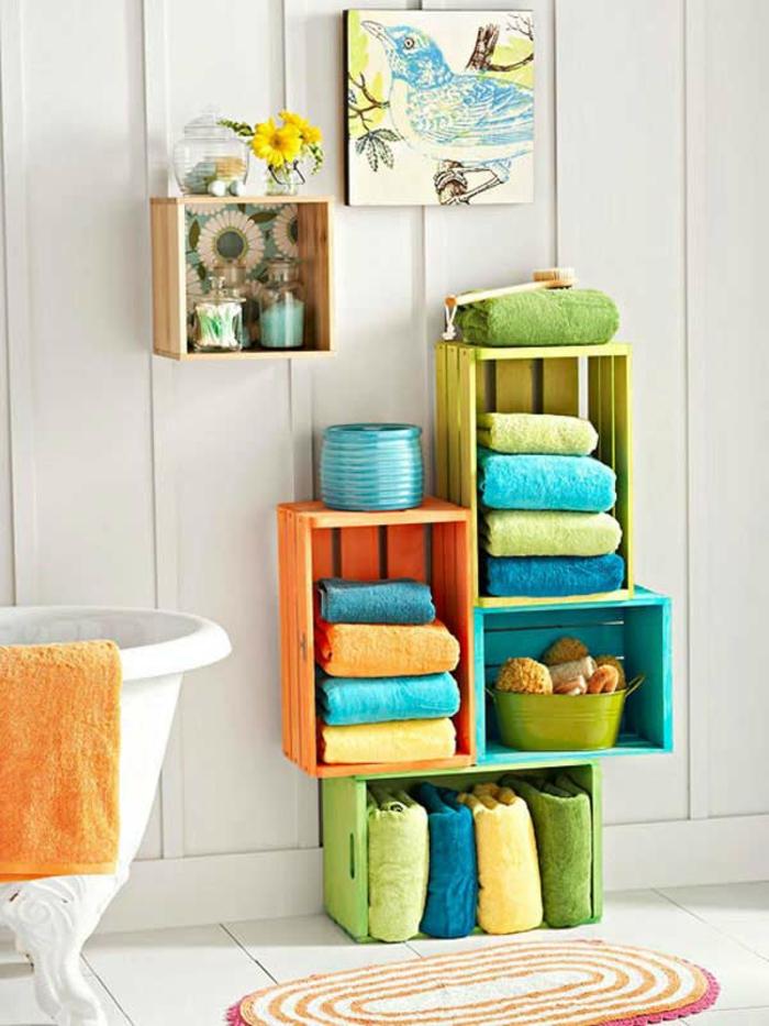Kreatives basteln 70 coole bastelideen welche die for Badezimmer kreative ideen