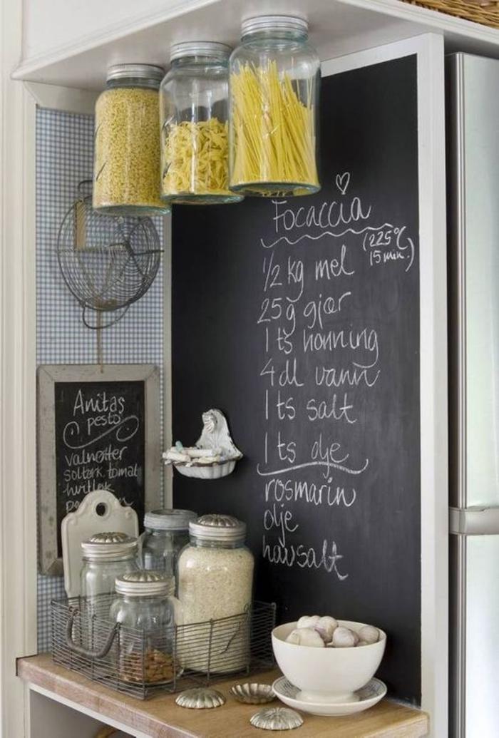 Kreative Bastelideen Einweckgläser Küche Stauraum Ideen