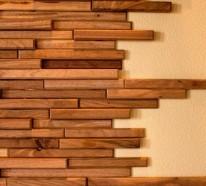 69 Einrichtungsbeispiele, bei denen Holzpaneele und Holzwand mehr als nur präsent sind
