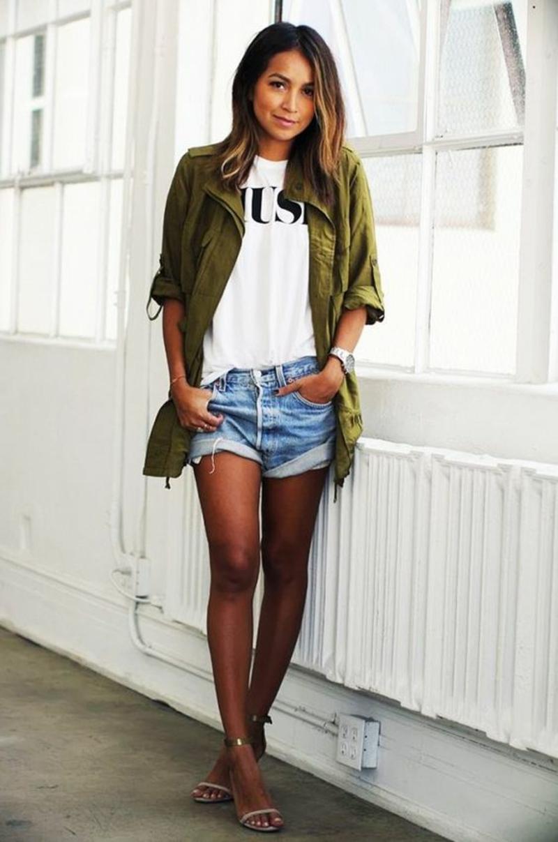 Kurze Damenhosen Und Schicke Shorts Liegen 2016 Voll Im Trend