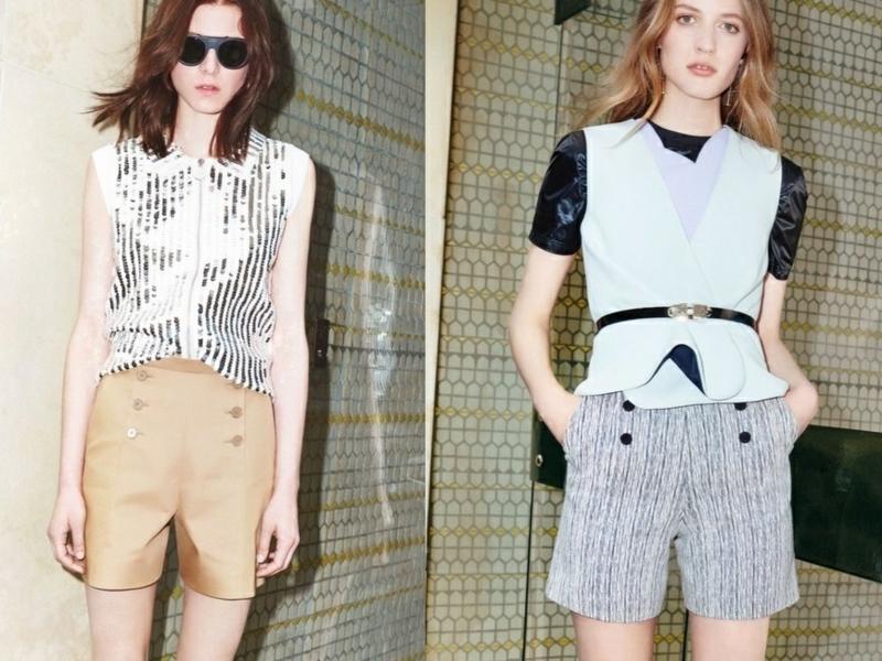 kurze Damenhosen Sommermode Trends kurze Hosen Damen