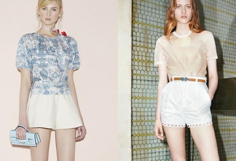kurze Damenhosen einfarbige Shorts Damen trendy Outfits