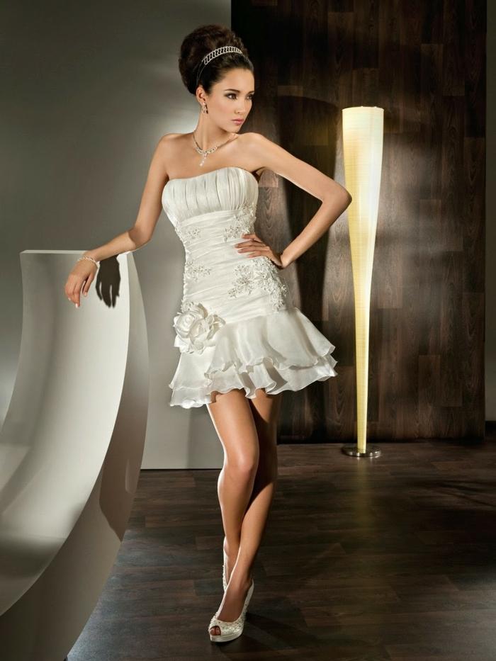 kurze brautkleider 2016 elegant satin sexy modell hochzeitskleid vestidos.pw