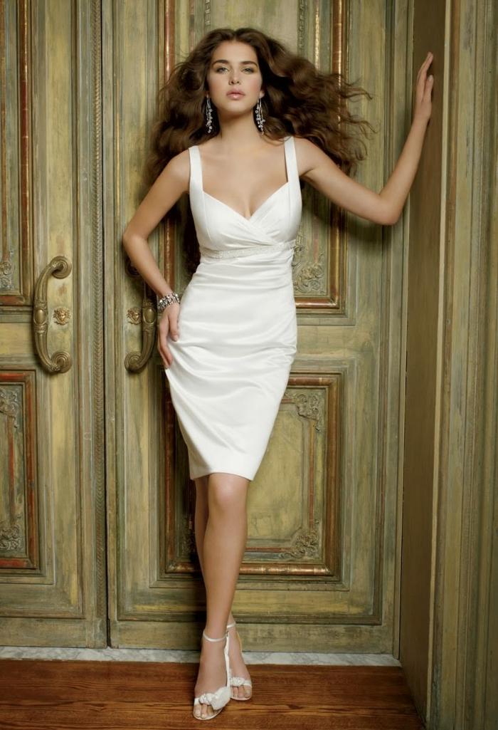 kurze brautkleider 2016 eleganter schnitt sexy odell knielang vestidos.pw