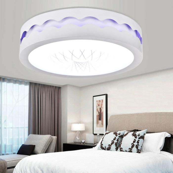 lampen und leuchten schlafzimmer beleuchten deckenleuchte weiße wände