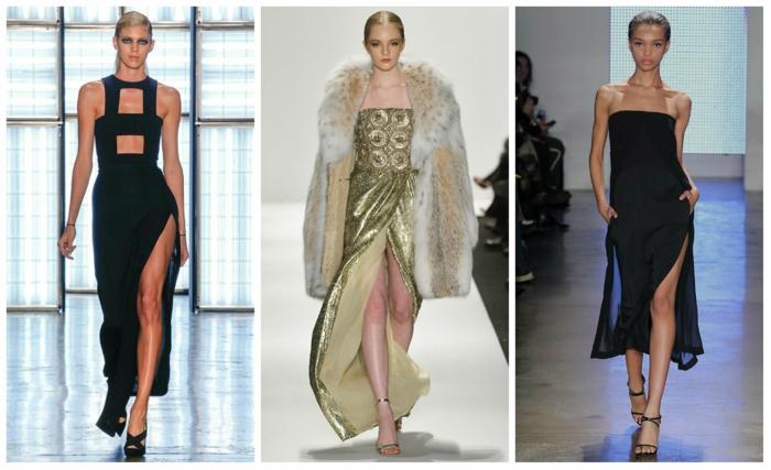 lange kleider cocktail kleid elegantes abendkleid abikleider 2016 dress trends