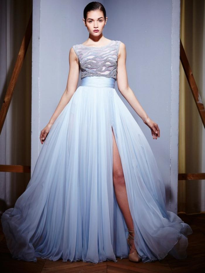 lange kleider cocktail kleid elegantes kleid weiß hochzeitskleid tüll modernes design 2016