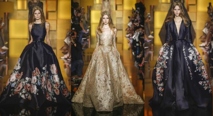 lange kleider cocktail kleid weiß brautkleid haute couture neue trends 2016 elie saab
