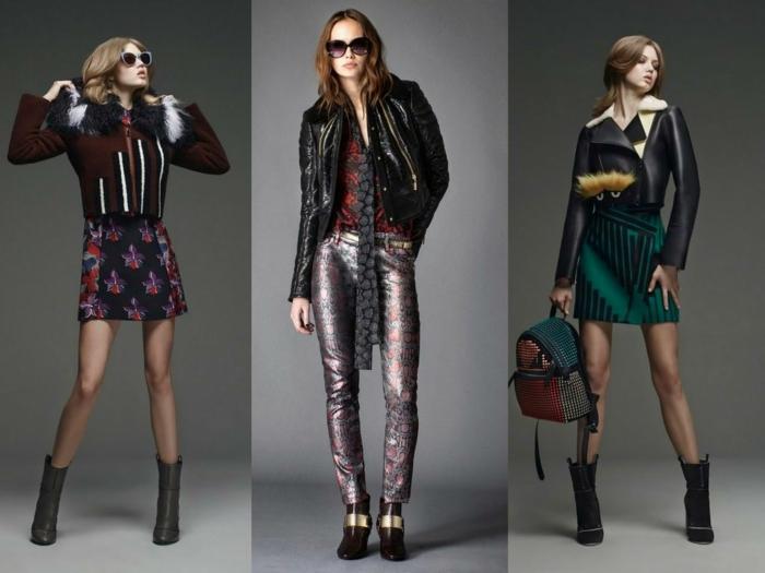 lederjacken moderne designs 2016 casual elegant haute couture