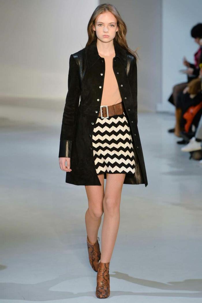 lederjacken moderne designs casual elegant klasisches modell new york kollektion jill stuart